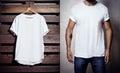 Photo Of White Tshirt Hanging ...
