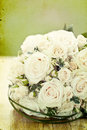 Photo of white wedding bouquet vintage Royalty Free Stock Images