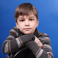 Photo of the young boy Stock Images