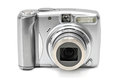 Photocamera isolated on a white background Stock Image