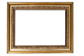Photoframe on a white background Stock Photos