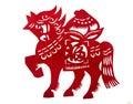 Antický čínština z kůň