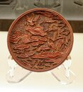 Antique lacquer ware from Yuan Dynasty, China Royalty Free Stock Photo