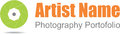 Photographer logo Stock Photography