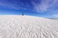Photographer at White Sands Royalty Free Stock Images