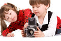 Photographers Royalty Free Stock Images
