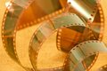 Photographic film closeup image of Royalty Free Stock Photography