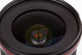 Photographic lens closeup of a new Stock Photography