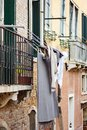 Photographs that portray Venice differently, chaotic and crowded, full of tourists and people going around, kids who live the city Royalty Free Stock Photo