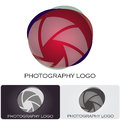 Photography company logo Stock Photos