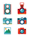 Photography design over white background vector illustration Royalty Free Stock Image