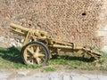 Heavy infantry gun Royalty Free Stock Photo