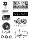 Photography logo Stock Images