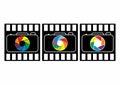 Photography logo design, camera logo set