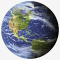 Photorealistic planet Earth - PNG Royalty Free Stock Photo