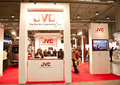 Photoshow: JVC stand Royalty Free Stock Image