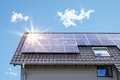 Photovoltaic panels Royalty Free Stock Photo