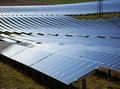 Photovoltaic power plant Royalty Free Stock Photos