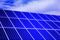 Photovoltaic, solar panel - Renewable energy Royalty Free Stock Photo