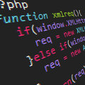 Php code Royalty Free Stock Photo