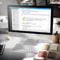 Php Programming Html Coding Cyberspace Concept Royalty Free Stock Photo