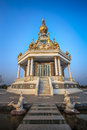 Phra Maha Chedi Rattana Taiya Lokthat Royalty Free Stock Photo