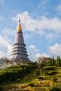 Phra Mahathat Naphamethanidon Stock Photos