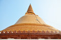 Phra pathom chedi pathommachedi thai พระปฐมเจดีย์ is the tallest stupa in the world with the height of Royalty Free Stock Photos