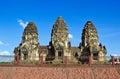 Phra Prang Sam Yot Royalty Free Stock Photography
