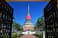 Phra samut chedi in prakan thailand Stock Image