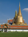 Phra siratana chedi in bangkok Royalty Free Stock Photo