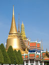 Phra siratana chedi in bangkok Royalty Free Stock Photography