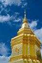Phra thart statue of wat jom khitti Stock Images
