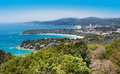 Phuket island kata and karon bay viewpoint tourist attraction is an international magnet for beach lovers serious divers in the Royalty Free Stock Image