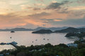 Phuket Sunset Royalty Free Stock Photography