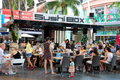 Phuket, Thailand: Jung Ceylon Restaurant Stock Photography