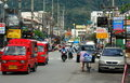 Phuket, Thailand: Rat-U-Thit Road Scene Stock Photography