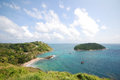 Phuket view point of the andaman sea from the viewing south of thailand Stock Photo
