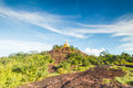 Phurungka national prak view point from nakornpanom thailand Stock Photography