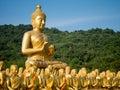 Phutta uttayan maghabuja anusorn nakhornnayok thailand Stock Photo