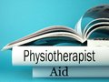 Physical therapy books guide to therapist practice Royalty Free Stock Images