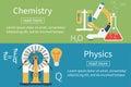 Physics, chemistry vector