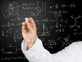 Physics diagrams and formulas Royalty Free Stock Photo