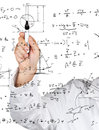 Physics diagrams and formulas Stock Photography