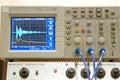 Physics laboratory equipment Royalty Free Stock Image