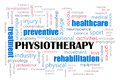 Physiotherapy concept Royalty Free Stock Photos