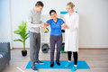 Physiotherapy in progress