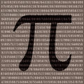 Pi number Royalty Free Stock Photos