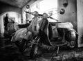 Piaggio Vespa vintage Royalty Free Stock Photo
