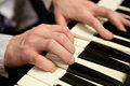 Pianists Hands And Piano Keybo...